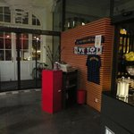 Restaurante e o tributo ao Inter de Milão