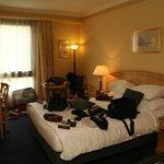 Hotel Room - Sorry our belongings