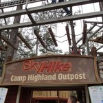 High Ropes Course for teens