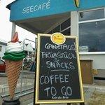 Seecafé Eingang