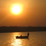 Fishing in Sunset with Rental Boat