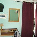 TV/Safe/Mirror/Window Curtains