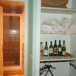 Plenty of space to stash wine