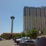 Vista desde el estacionamiento de la Torre de las Amércas