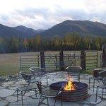 enjoy a warm fire
