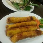Vietnamese shrimps & pork Spring rolls