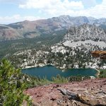 Mammoth Lakes from Mammth Crest Trail