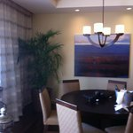 Grand Suite dining area