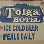 Cold beer, great meals