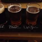 Beer samples, recommend the blueberry!