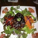 Tokyo Tuna on a bed of salad