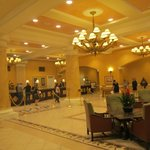 Lobby of the Wyndham where you check in