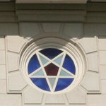 Nauvoo Temple Stained Glass Star