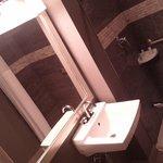 Modernized washroom very Spacious