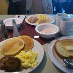 2日目の朝食(フリー)