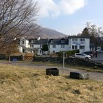 Kintail Lodge - view from the loch.