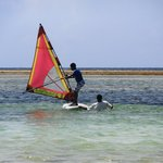 Windsurfing lessons at Chui Adventure Centre