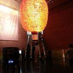 entrance huge lantern!