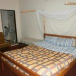 King size double room self contained