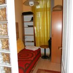 Studio bedroom single bed