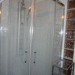 Studio bathroom shower