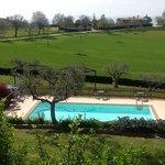 la piscina del Falchetto