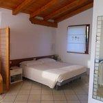 camera da letto della depandance