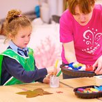 Art Workshops take place throughout the week in our Art Studio