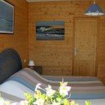 chambre bleue 1 lit 160 cm