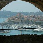 il porto di antibes da fort carrè