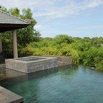 منظر الجاكوزي والمسبح