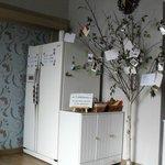 Refrigerator and snacks