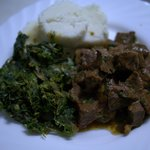 Chef Joseph taught me how to cook ugali and stew