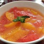 salade fruit du petit déjeuner au dokhans