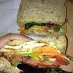 Halloumi Salad Sandwich from Tasti Mana