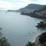 View looking back to Monte carlo