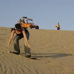 Sandboarding de pie