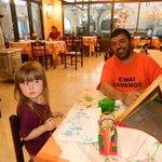 Charlie at Armourada Restaurant Arillas