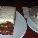 Decided to indulge in a carrot cake! :)