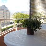 Terraza desde habitación doble
