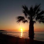 Amanece en la playa Benicasim