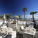 Terraza restaurante Purobeach Marbella