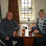 A quiet drink in the snug at the Mason's Arms