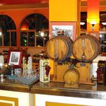Wine Area in the Buffet
