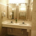 Pretty Lobby Bathroom
