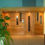 Voilà le sauna !
