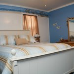 Beach Cottage Bedroom- Queen sized bed