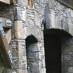 Beautiful stonework created by local craftsmen