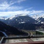 Blick vom Balkon Zimmer 501