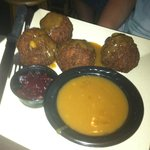 Deep Fried Turkey Balls (deep fried dressing)
